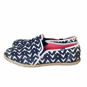 Keds Espadrille Flats Denim/Cream